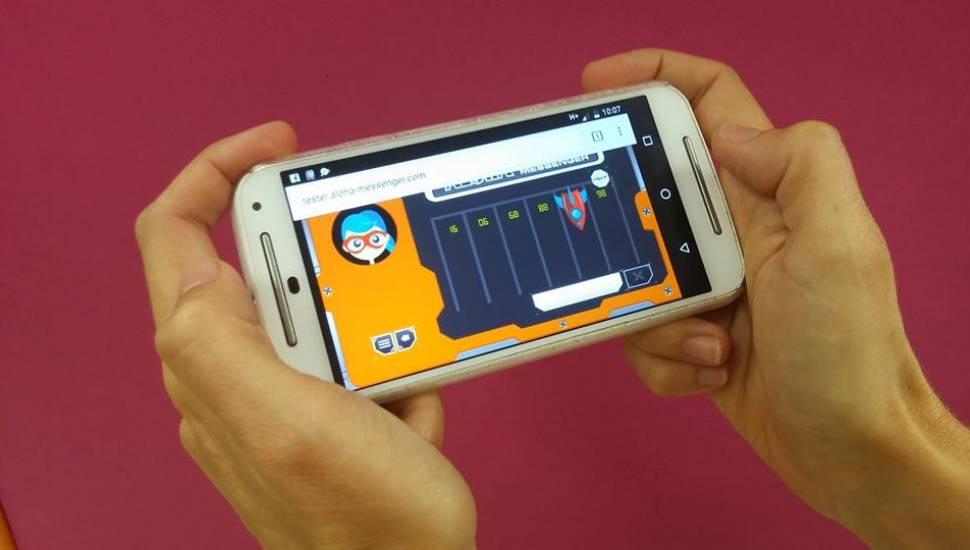 ALOHA MESSENGER-l'app per entrenar les neurones